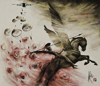 Pegasus Poster by Alan Kirkland-Roath