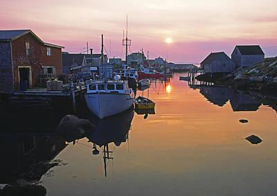Peggy's Cove, Nova Scotia, Canada Poster