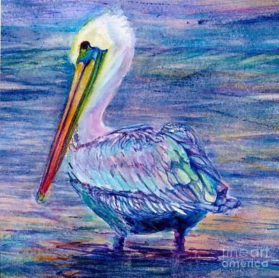 Pelican Gaze Poster