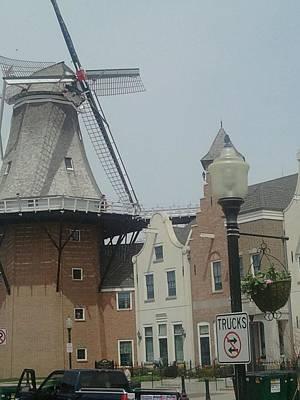 Pella Iowa Windmill Poster