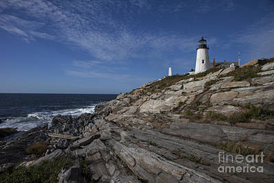 Pemaquid Lightouse Poster by Timothy Johnson