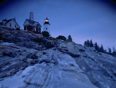 Pemaquid Pt. Light Poster