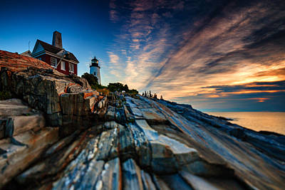 Pemaquid Sunrise Poster