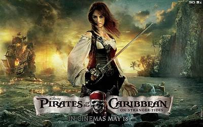 Penelope Cruz Pirates Of The Caribbean Poster