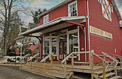 Pennsdale Country Store Poster by Stephanie Calhoun
