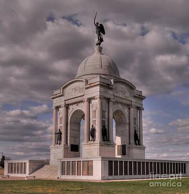 Pennsylvania Memorial At Gettysburg Poster by David Bearden