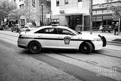 pennsylvania state trooper police cruiser vehicle Philadelphia USA Poster