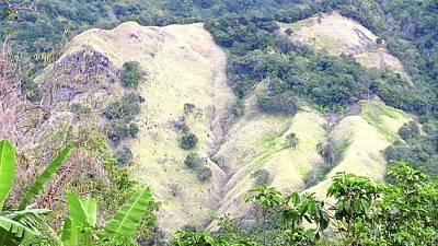 Penuelas, Puerto Rico Mountains Poster