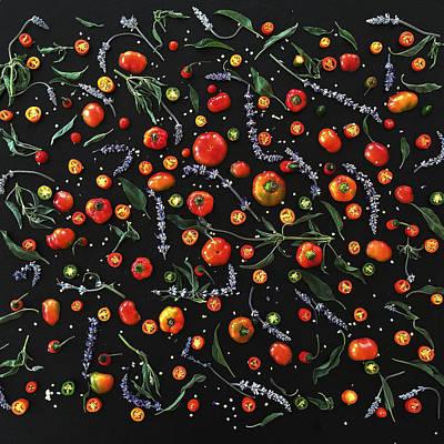 Pepper Pattern Poster