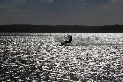 Poster featuring the photograph Perfect Light At Lake Wollumboola by Miroslava Jurcik