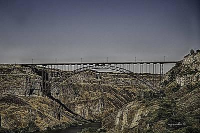 Perrine Bridge Poster by Michael Rankin