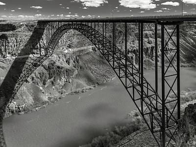Perrine Bridge, Twin Falls, Idaho Poster