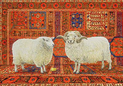 Persian Wool Poster