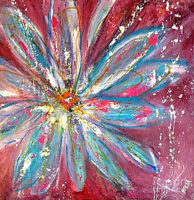 Petals Exploding Poster