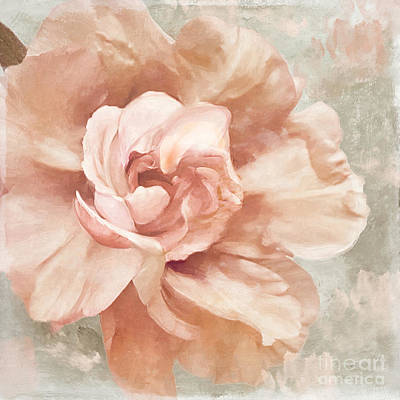 Petals Impasto I Poster by Mindy Sommers