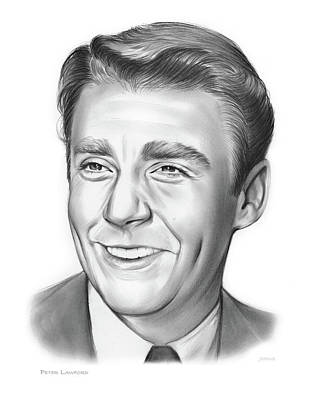 Peter Lawford Poster by Greg Joens