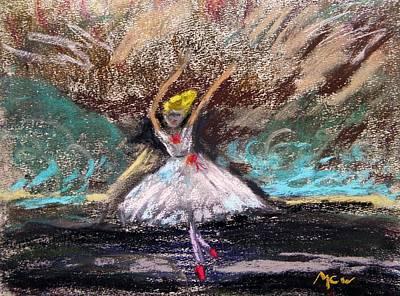 Petite Ballerina Poster by Mary Carol Williams