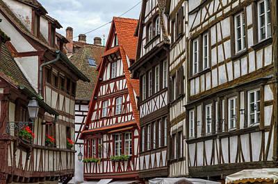Petite France Houses, Strasbourg Poster