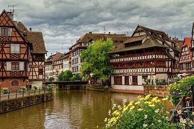 Petite France, Strasbourg Poster by Elenarts - Elena Duvernay photo