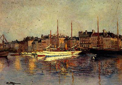 Petitjean Edmond St Tropez Poster
