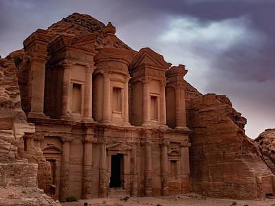 Petra's Monastery Poster