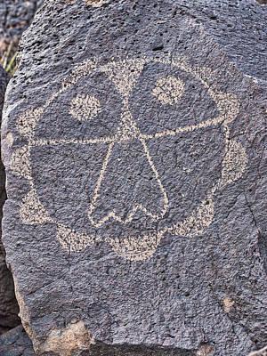 Petroglyphs V - Albuquerque - New Mexico Poster