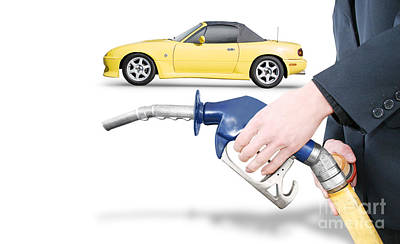 Petrol Bowser Pump Poster by Jorgo Photography - Wall Art Gallery