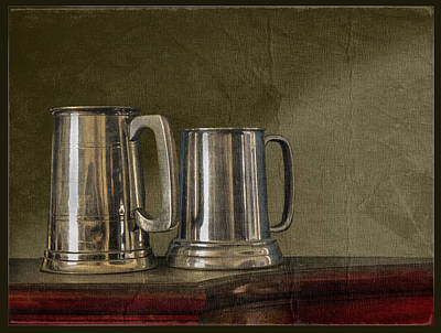 Pewter Tones Poster by John Anderson