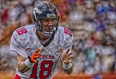 Peyton Manning Calls Out The Platy Poster by Mountain Dreams