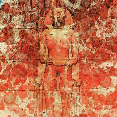 Pharaoh By Raphael Terra And Mary Bassett Poster