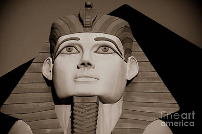 Pharaohs And Pyramids Poster