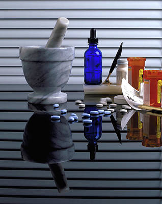 Pharmacy  Poster by Marie Hicks