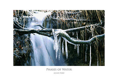 Poster featuring the digital art Phases Of Water by Julian Perry