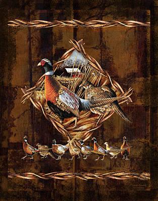 Pheasant Lodge Poster