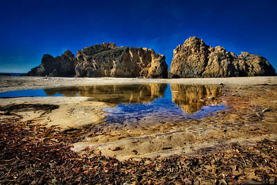 Poster featuring the photograph Pheiffer Beach #15 - Big Sur, Ca by Jennifer Rondinelli Reilly - Fine Art Photography