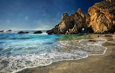 Pheiffer Beach #9- Big Sur California Poster by Jennifer Rondinelli Reilly - Fine Art Photography