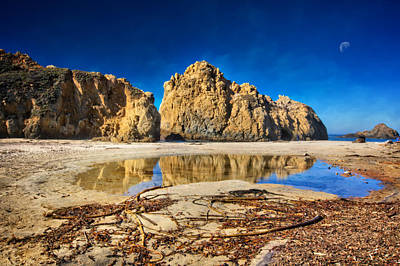Poster featuring the photograph Pheiffer Beach - Keyhole Rock #16 - Big Sur, Ca by Jennifer Rondinelli Reilly - Fine Art Photography