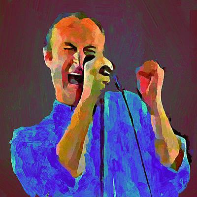 Phil Collins Tonight Tonight Poster