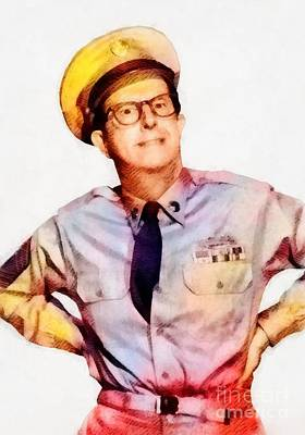 Phil Silvers, Comedy Legend By John Springfield Poster by John Springfield