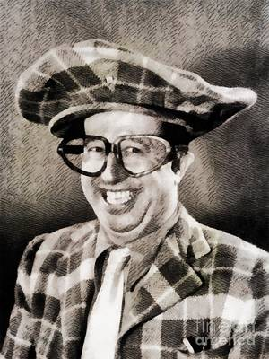 Phil Silvers, Comedy Legend Poster by John Springfield