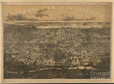Philadelphia 1868 Poster