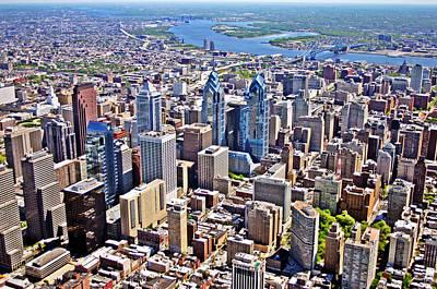 Philadelphia Center City Rittenhouse Square Poster by Duncan Pearson