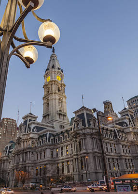 Philadelphia City Hall Poster by Richard Nowitz