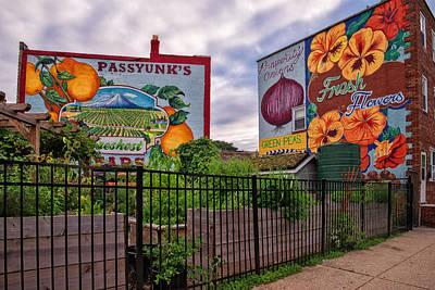 Philadelphia Community Gardens Poster