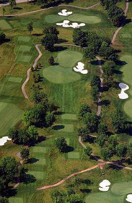 Philadelphia Cricket Club Militia Hill Golf Course 15th Hole Poster by Duncan Pearson
