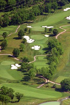 Philadelphia Cricket Club Militia Hill Golf Course 5th Hole Poster by Duncan Pearson