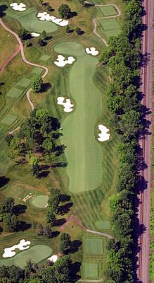 Philadelphia Cricket Club Militia Hill Golf Course 8th Hole Poster by Duncan Pearson