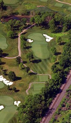 Philadelphia Cricket Club Militia Hill Golf Course 9th Hole Poster
