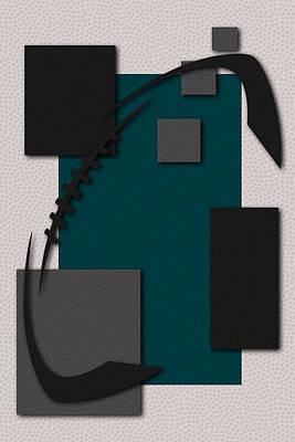 Philadelphia Eagles Football Art Poster