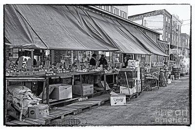 Philadelphia Italian Market 3 Poster